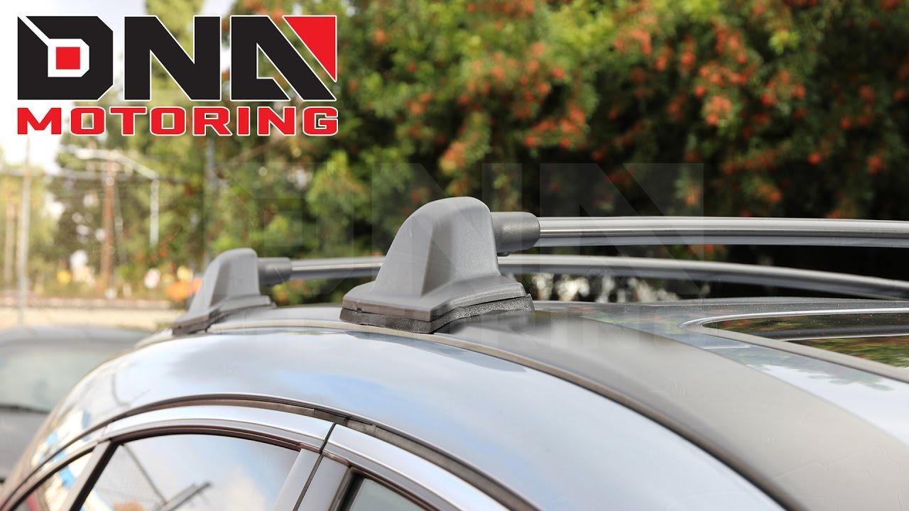 Superior DNA Motoring 07 11 Honda CRV Cargo Roof Rack Installation