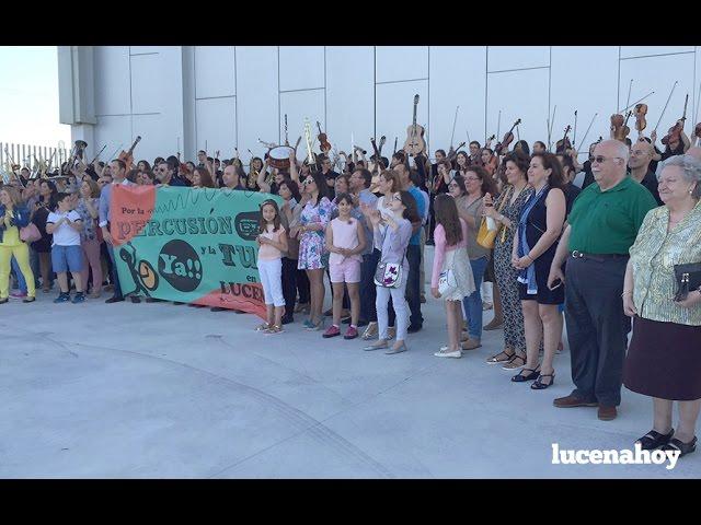 Vídeo Noticia: El Conservatorio de Lucena exige las especialidades de percusión y tuba