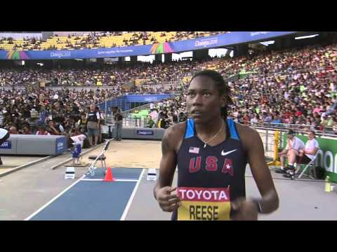 Brittney Reese retains her crown in the Women's Long Jump Final