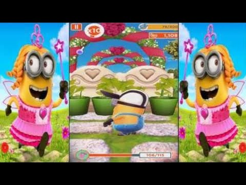Kids Games HD - Despicable Me Minion Rush New Valentine's Minions On The Run And Special Mission