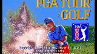 PGA Tour Golf Mega Drive Title Music