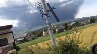 9月13日阿蘇山大噴火.
