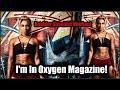 I'm In Oxygen Magazine!| Shoulder Workout| Gym Fashion