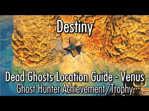 Destiny dead ghost locations venus ghost hunter achievement