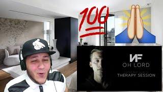 NF - Oh Lord (Audio) REACTION!!