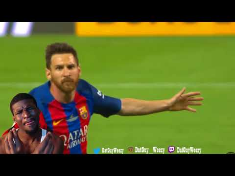 LIONEL MESSI - ONE SINGLE TOUCH IS ENOUGH REACTION!!!