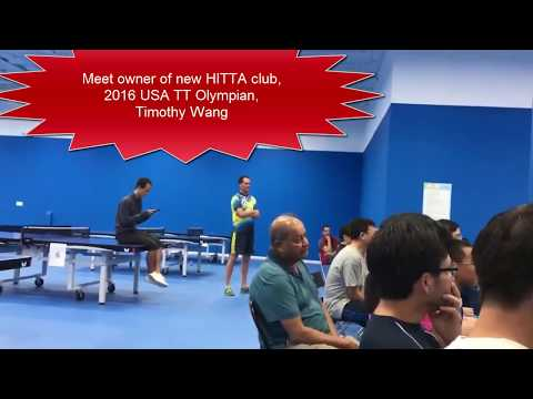 [TT Club] Timothy Wang Olympian New HITTA Club (Li Kewei - Butler Final) Private Recording