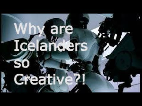 Why are Icelanders so Creative?