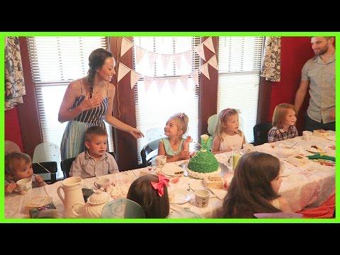 FIVE YEAR BIRTHDAY TEA-PARTY!