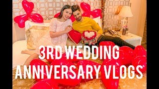 3rd Wedding Anniversary VLOGS