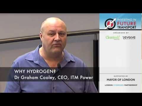 Why Hydrogen fuel - Keynote Speech by ITM Power