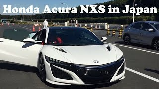 The New Honda Acura NSX in Japan, Amazing Acura NXS interior and exterior