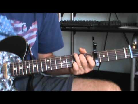 It's Only Make Believe / Capoed in the 4th fret Chords cover