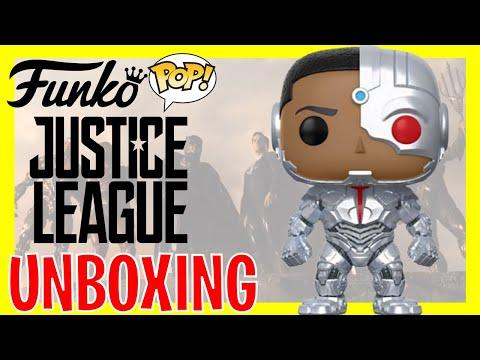 Funko Pop Cyborg Justice League Bogotá Colombia