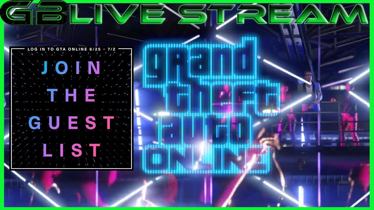 gta online nightlife join the guest list youtube
