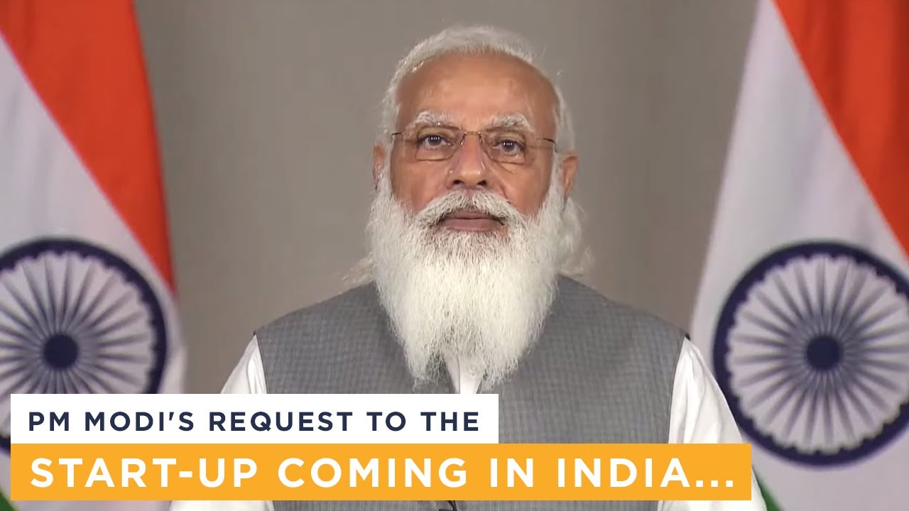 PM Modi's request to the start-up coming in India...