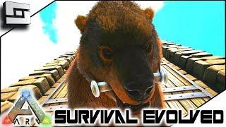 Taming A Dire Bear! ARK: Survival Evolved - E12 ( Ark Ragnarok Map )