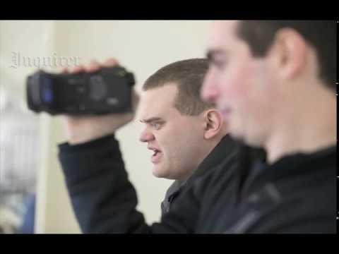 Blind broadcaster Matt Wallace