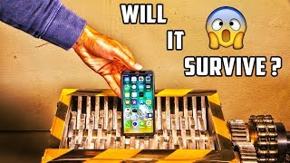 IPhone X versus Shredder | Who will win?