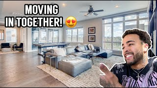We Are Leaving LA & MOVING IN TOGETHER! *Surpriseee* 😍