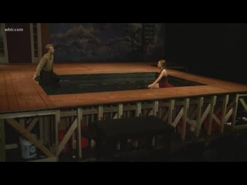 Maryville College creates amazing new set for production of Metamorphoses
