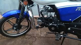 Motor 125 TAOLO o'rnatish. moped alpha RX