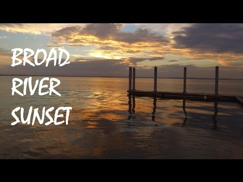 Broad River, South Carolina Sunset
