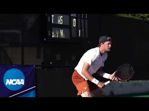 Texas Men's Tennis Advances to NCAA 2nd Round [May 11, 2018}
