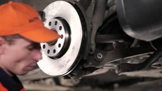 Montavimo Pasukimo trauklė videoinstrukcija VW PASSAT