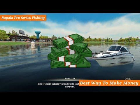 Best Way To Make Money In Rapala Pro Series Fishing