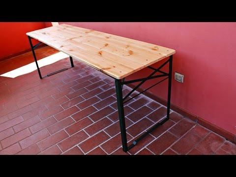 Levigatrice a disco da banco fai da te doovi for Costruire un tavolo pieghevole