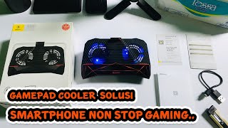 Gambar cover Baseus Gaming Smartphone Cooling Gamepad - Solusi Pecinta Game Mobile [UNBOXING]