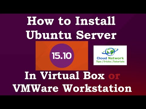 How to Install Ubuntu Server 15.10 (Wily Werewolf) in Virtual box
