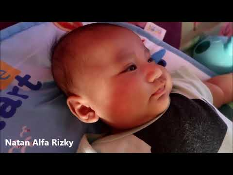 Baby Natan Lagi Main Piano Playmat Part 2 - Mainan Bayi
