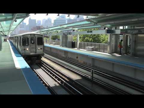 New Morgan CTA Station