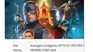 How to Download Avenger Endgame 2019 HDCAM with Google Drive