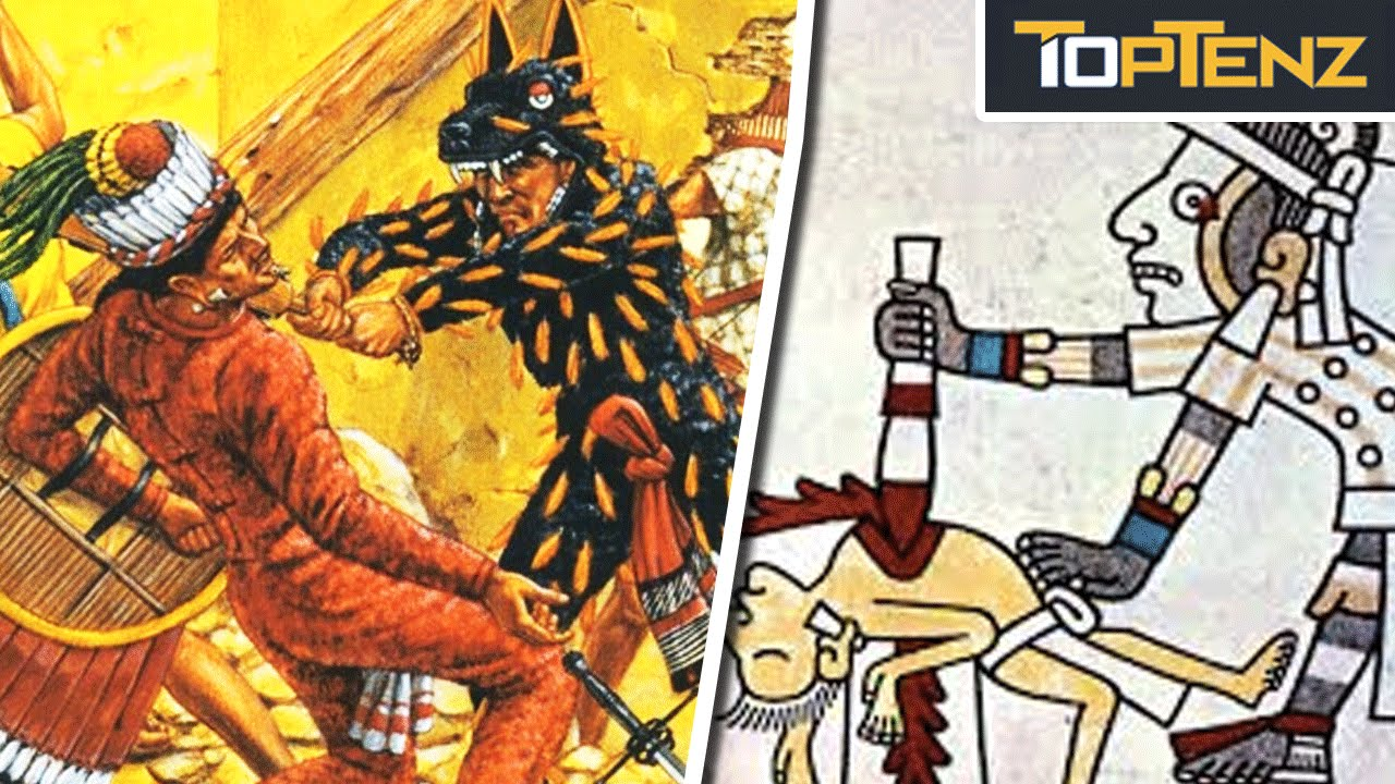 Top 10 Horrifying Facts About Aztec Warriors Youtube