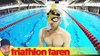 How Triathletes Can Swim A Marathon