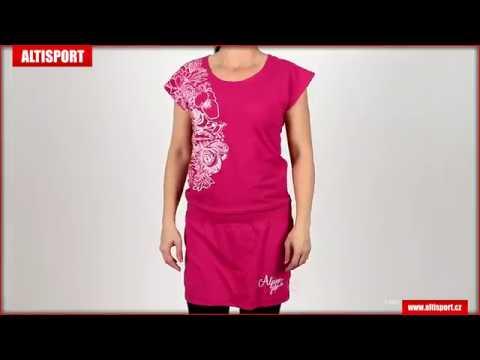 c2446d0cacee dámské šaty alpine pro liba lskj082 růžová - YouTube