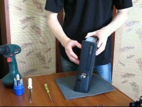 Как разобрать Xbox 360 Slim в домашних условиях