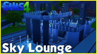 sims 4 speedbuild sky lounge