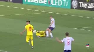 Англия U 21 Румыния U 21 2 4 Чемпионат Европы до 21 года Обзор матча