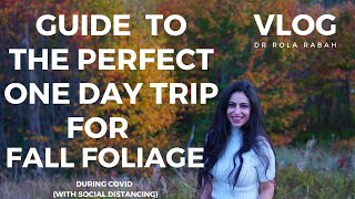 VLOG | How To Do 1 day in Fall Foliage | New Hampshire Day Trip