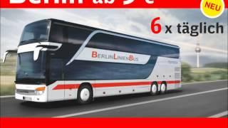 BerlinLinienBus: 6x täglich, jede Richtung Berlin - Hannover - Berlin