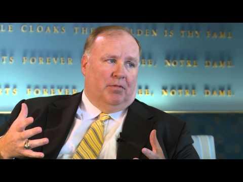 Mendoza Dialogues with Notre Dame VP Scott Malpass