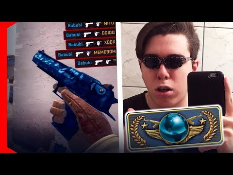 COMP DE GLOBAL COM O ÓCLIN DO PODER! GANHAMO? [CS:GO]