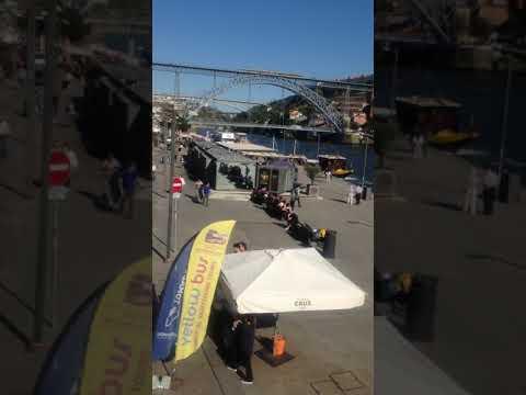Chegando na Ribeira do Porto