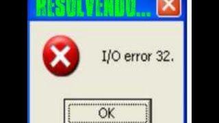 I/O error 32 - IMG Tool [RESOLVIDO]