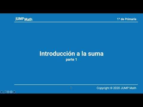 1º. Unidad 3. Introducción a la suma. Parte I