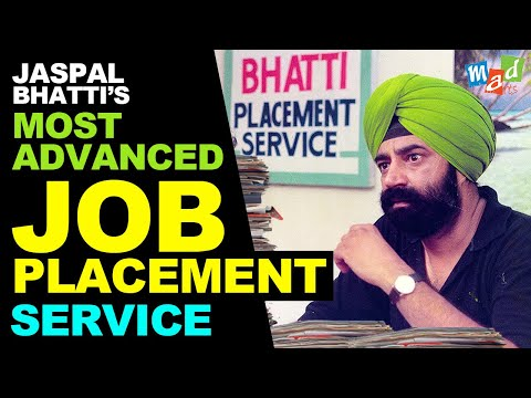The most advanced placement service   THE JASPAL BHATTI PLACEMENT SERVICE | Full Tension |